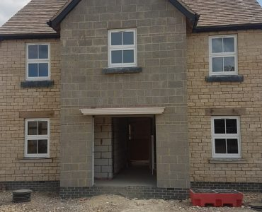 Construction of 41 new build residential homes